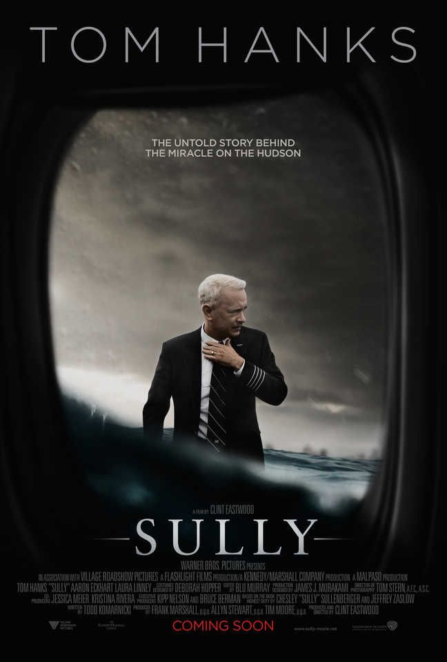#SULLY  #31moviesinmay 8/31 Tom Hanks, Clint Eastwood