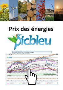 Dossier du prix de toutes les énergies actualisé à ce jour (historique depuis 2002). Portail habitat Picbleu