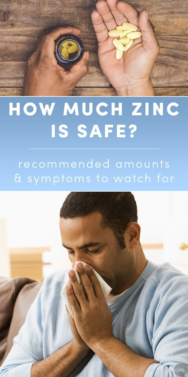 Zinc supplements are popular for for boosting immunity. If you're taking zinc to ward off illness, watch out for these signs that you're taking too much zinc.