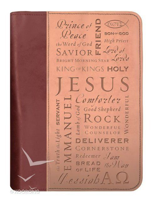 Buy Bible Cover Duo-Tone Names of Jesus Medium Online - Bible Cover Duo-Tone Names of Jesus Medium Bible Cover: ID 0310805910