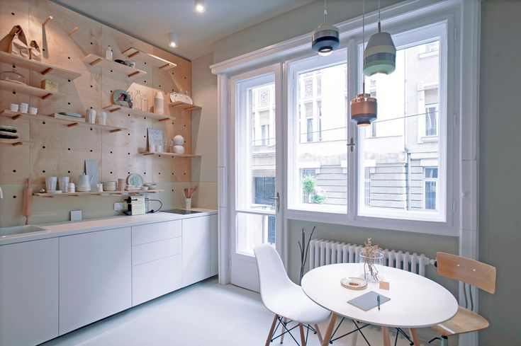 Een klein appartement met slim ruimtegebruik