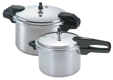 Pressure Cooker & Pressure Canners by Mirro: Variety of Sizes Stainless Steel