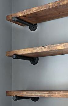 Moderne keuken combineren met handgemaakte elementen zoals opbergplanken #LGLimitlessDesign #Contest