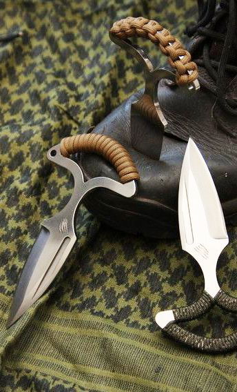 BASTINELLI CREATIONS - Push dagger L'ASSAULUTION Fixed Tactical Knife Blade @aegisgears #blade