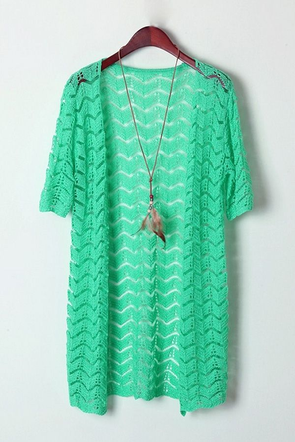 Sugar Cutout Short Sleeve Cardigan