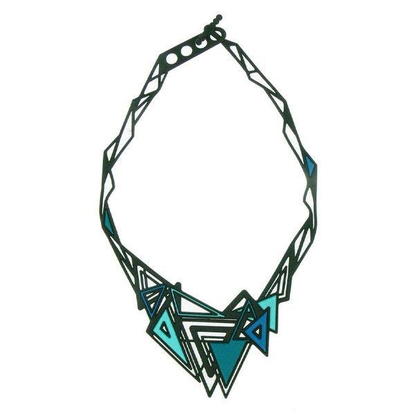 Batucada Kheops Necklace - Blue $49.95 #leethal #leethalfashion
