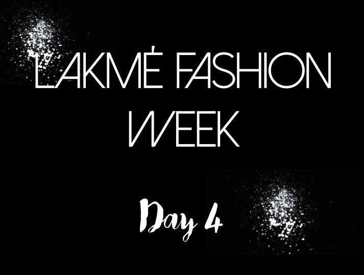 【Lakmé Fashion Week | Day 4】Day 4 at Lakmé Fashion Week was exciting and how. We were feverish with all the fashion fervour around us and the day had in store an exciting schedule of some super talented designers and their collections. The day ended with thrilling presentations by FitBit presents Masaba and of course, putting the cherry on the top was Monisha Jaisingh. Reporting from the buzzing grounds of the St. Regis itself and providing you with glamorous sneak peaks of all the shows…
