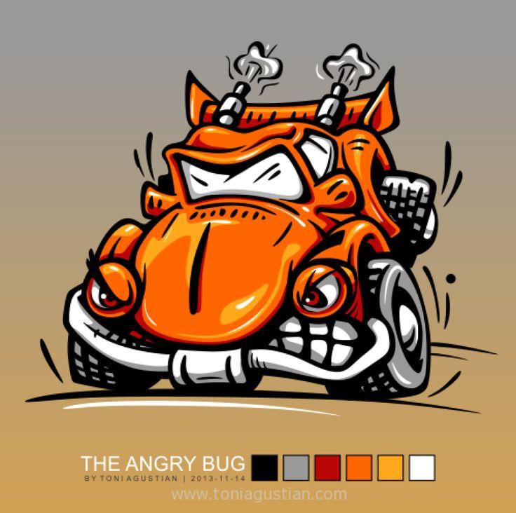 The angry bug