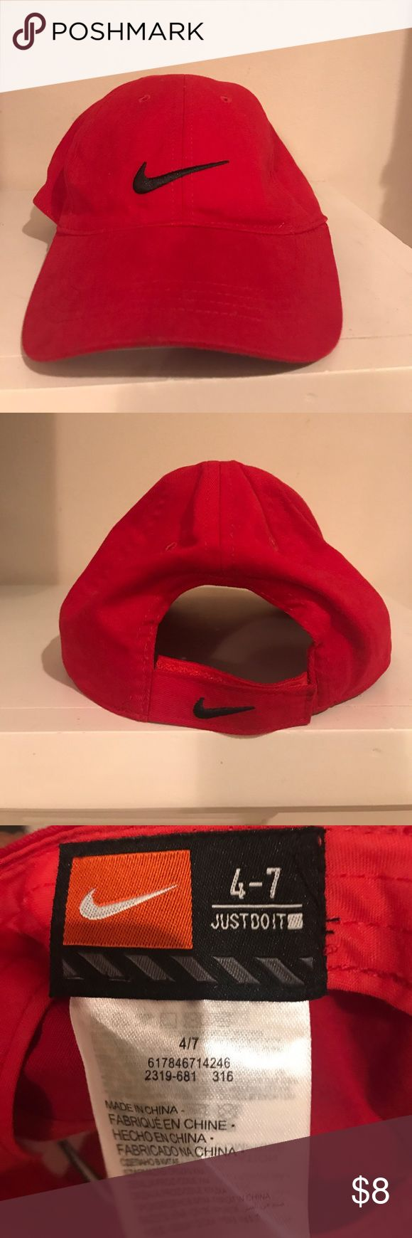 Youth Nike hat Red Nike Accessories Hats
