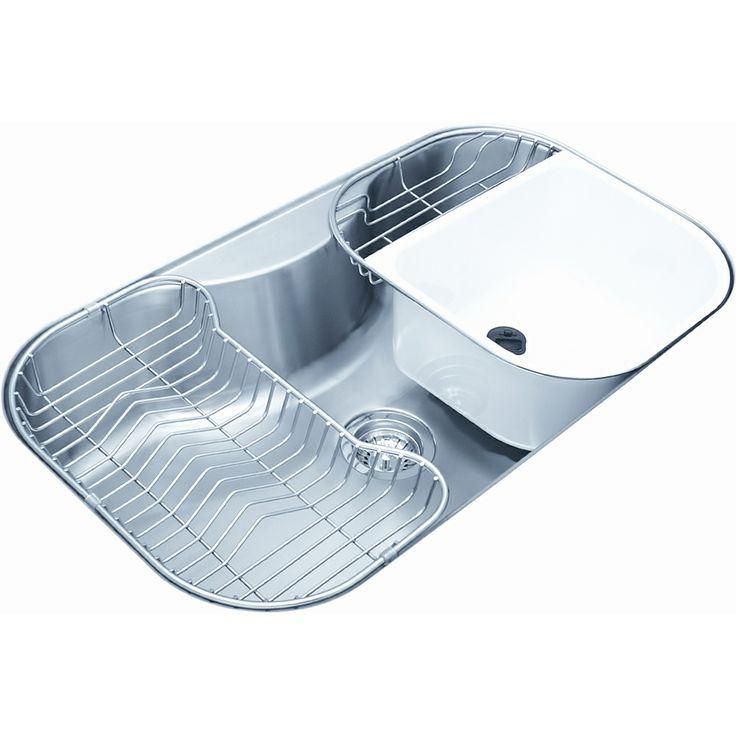 Best Undermount Stainless Steel Sink : Satin Finish Stainless-Steel Undermount Single Bowl Kitchen Sink ...