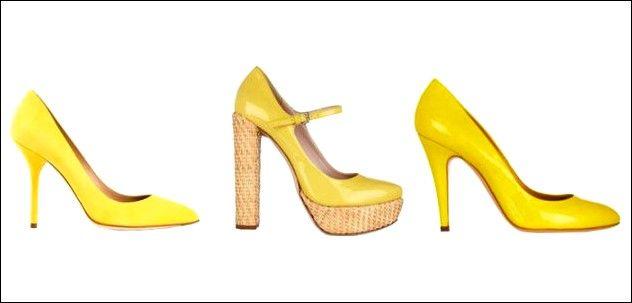 Promi Mode: gelbe Schuhe | Gelbe schuhe, Schuhe und Mode