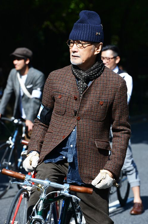 tokyo - tweed run by tommy ton