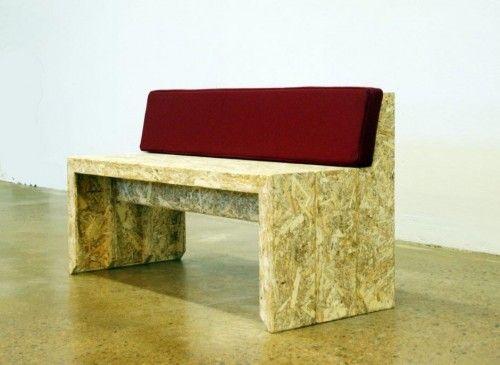 Chair of OSB Wood by Swedish Ninja