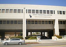 """Simon Wiesenthal Center-- (often abbreviated SWC) with headquarters in Los Angeles, California, United States, was established in 1977 & named for Nazi hunter Simon Wiesenthal.[1] According to its mission statement, it is """"an international Jewish human rights organization dedicated to repairing the world one step at a time. The Center's multifaceted mission generates changes through the Snider Social Action Institute and education by confronting antisemitism, hate and terrorism, promoting…"""