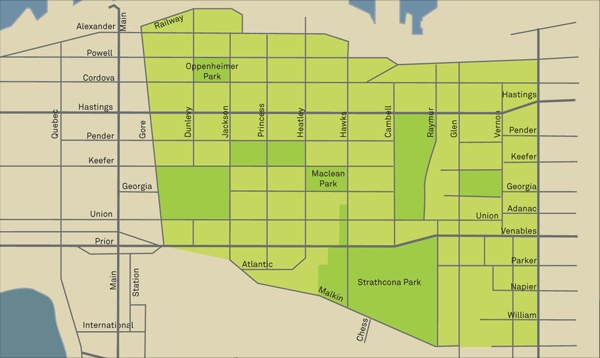 Location | Strathcona Residents' Association | Vancouver BC