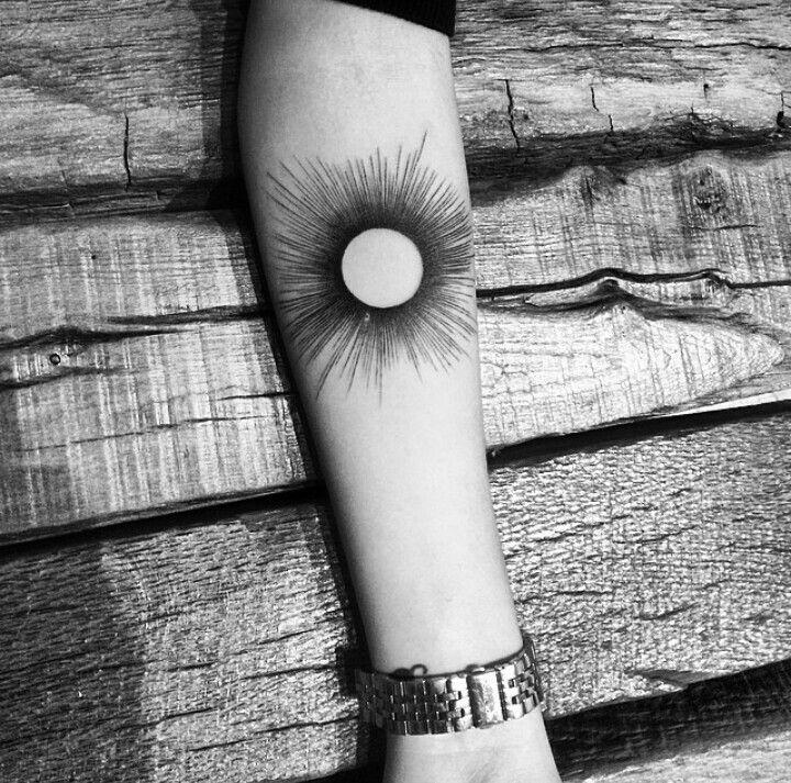 By Balazsbercsenyi | NY | #Linework #Blackwork #Shine #Sun