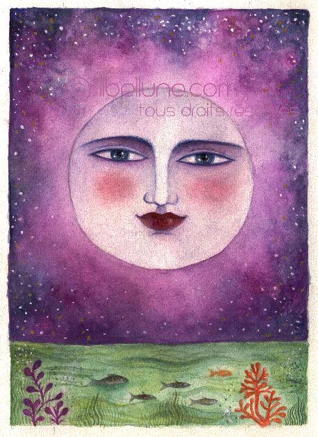 Moon by Libellune.com