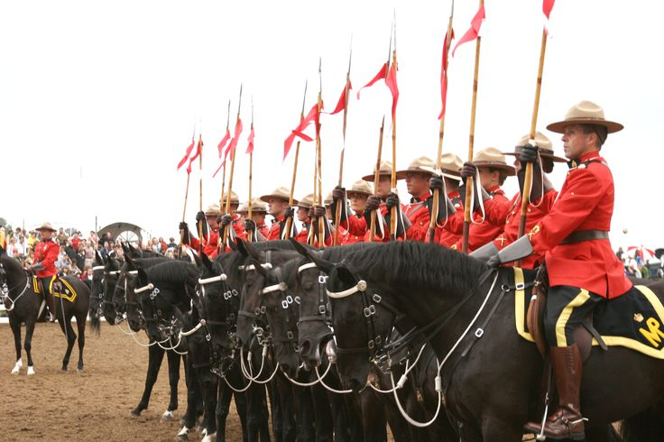 See the thrilling Royal Mounties Musical Ride!