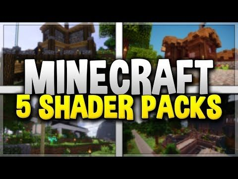 5 MINECRAFT SHADER PACKS! - Top Minecraft Shaders for 1.12 (#3) - http://freetoplaymmorpgs.com/minecraft/5-minecraft-shader-packs-top-minecraft-shaders-for-1-12-3