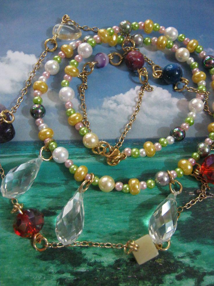 Lagrimas de Cristal, por los pensamientos de las perlas.