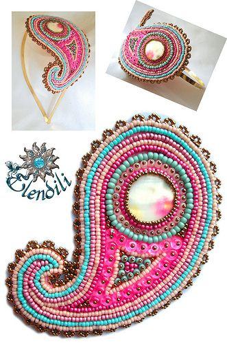 Diadema de embroidery | Tengo muuuchas cosas atrasadas por s… | Flickr