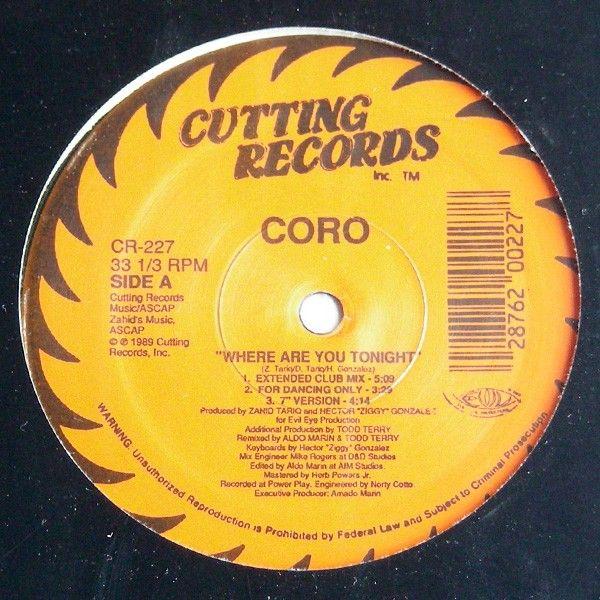 """Edizione originale 1989. No ristampa.<br />Ep contenente 5 Tracce<br />Lato A: Where Are You Tonight (Extended Club Mix) - (For Dancing Only) - (7"""" Version)<br />Lato B: Where Are You Tonight (Club House Mix) - (Dub That Mix)<br />Copertina incellophanata e Vinile perfetti.<br />Stampato in USA.<br /><br />Electronic Freestyle house [14,90€]"""