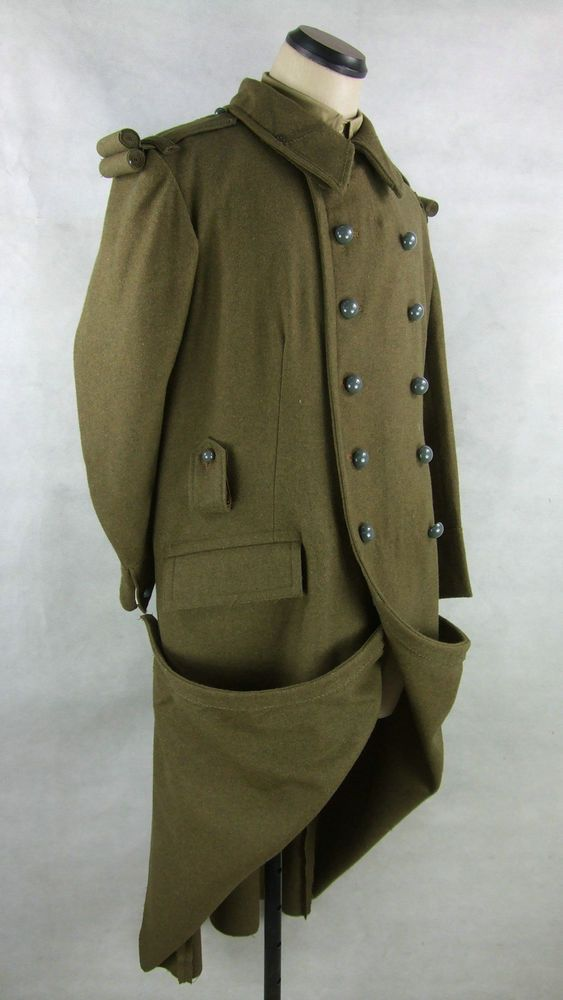 Details about WW2 France French M22 M35 Wool Great Coat