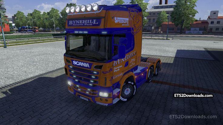 Bynehill Skin for Scania