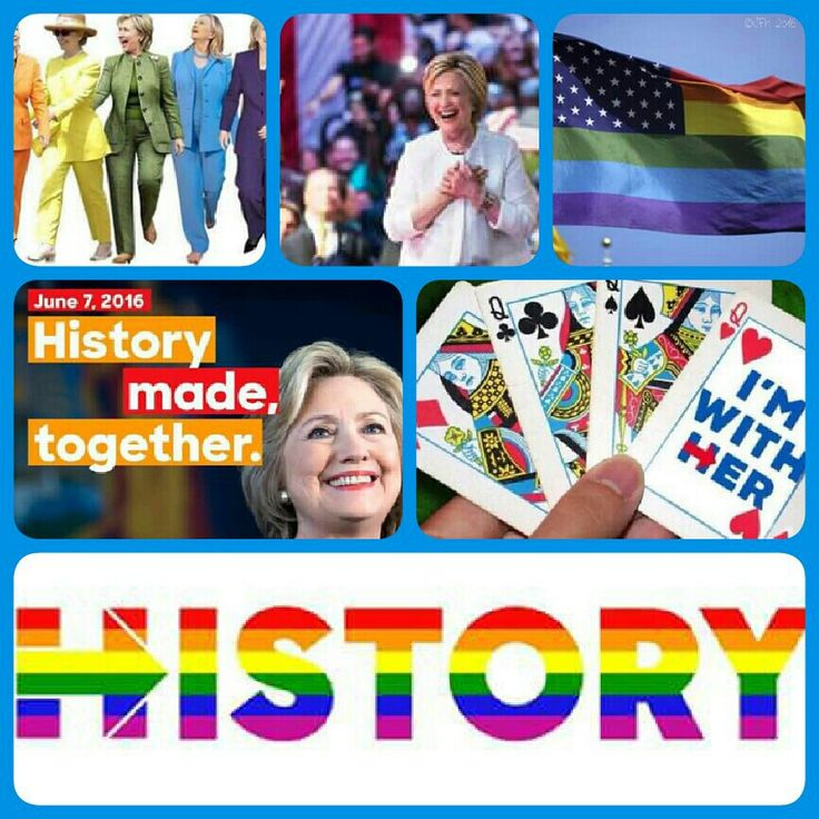 #Hillary #Clinton for #president #united #democrats #ImWithHer #DealMeIn #herstory #gay #civil #womens #rights