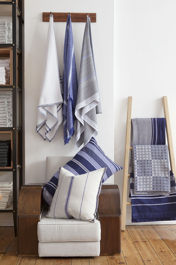 Shop Display | Woven homeware textile, made in South Africa by Mungo