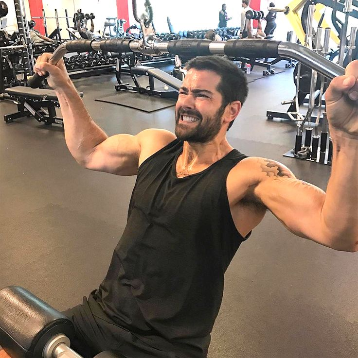 Jesse Metcalfe Works Out for His Mental Health