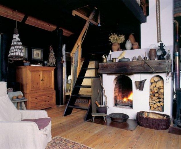 adelaparvu.com despre casa la tara de poveste, soba rustica  (4)
