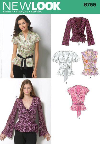 31 besten Out-Of-Print New Look Sewing Patterns Bilder auf Pinterest ...