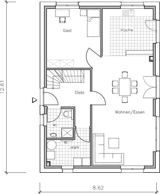 Passivhaus grundriss  448 besten bauen Bilder auf Pinterest   Grundrisse, Hausbau und ...