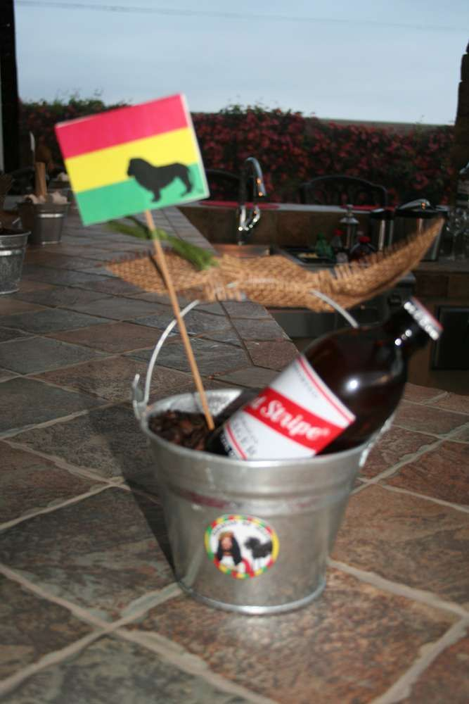Reggae-Bob Marley- Jamaican Birthday Party   CatchMyParty.com