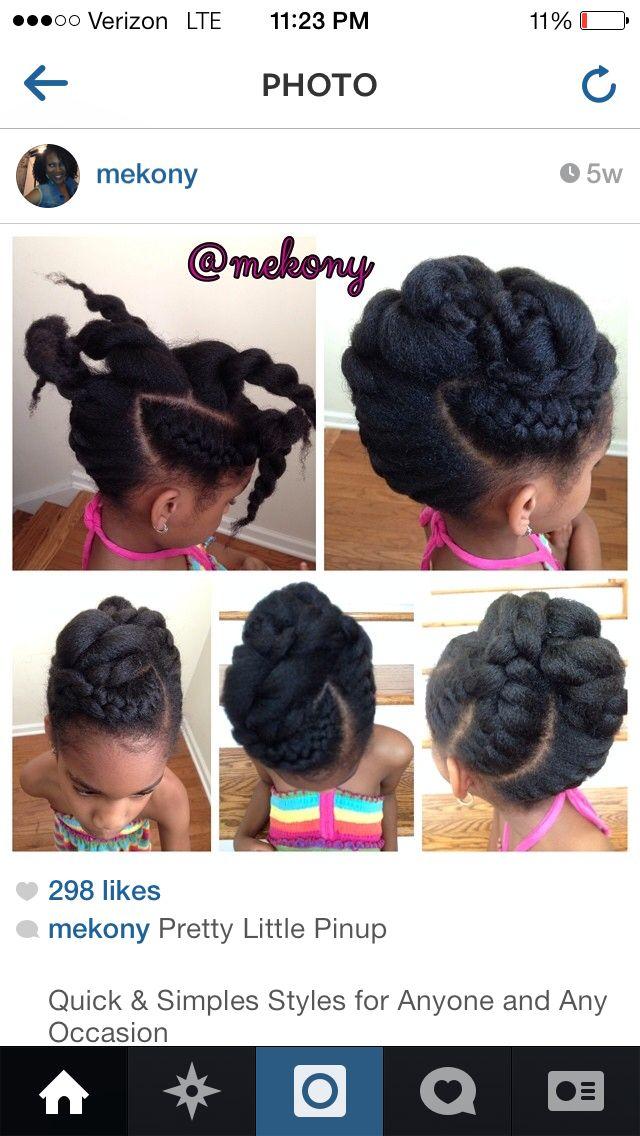 #mekony chunky cornrow + chunky two strand twist updo