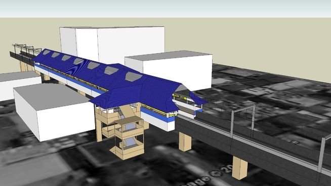 Manila Light Rail Transit - Tayuman Station - 3D Warehouse