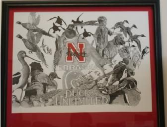 Nebraska Ducks Unlimited Print