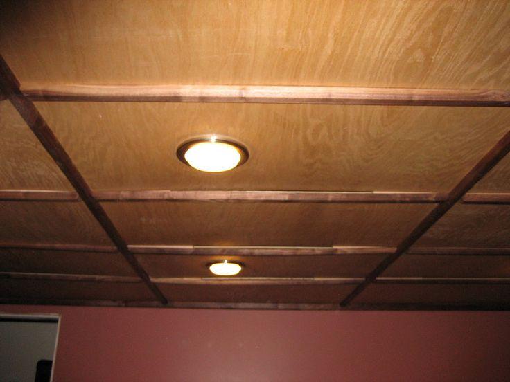 Ceiling Ideas In Basements   Basement Ceiling   By Keith D. J. Goren @  LumberJocks.com