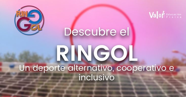 Descubre el RinGol, un deporte alternativo, cooperativo e inclusivo que nace desde la educación física con los aportes educativos que esto conlleva. Te invito a conocerlo de manos de sus creadores.