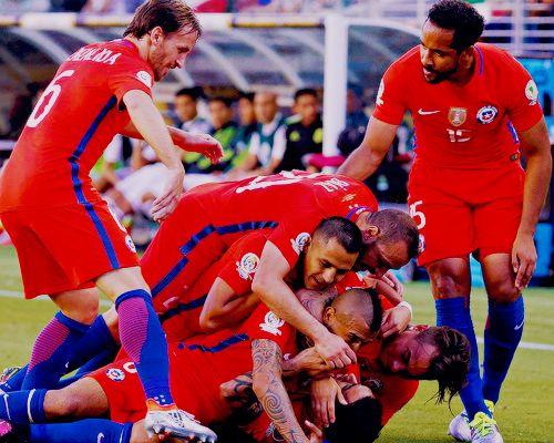 Chile NT. Copa America.