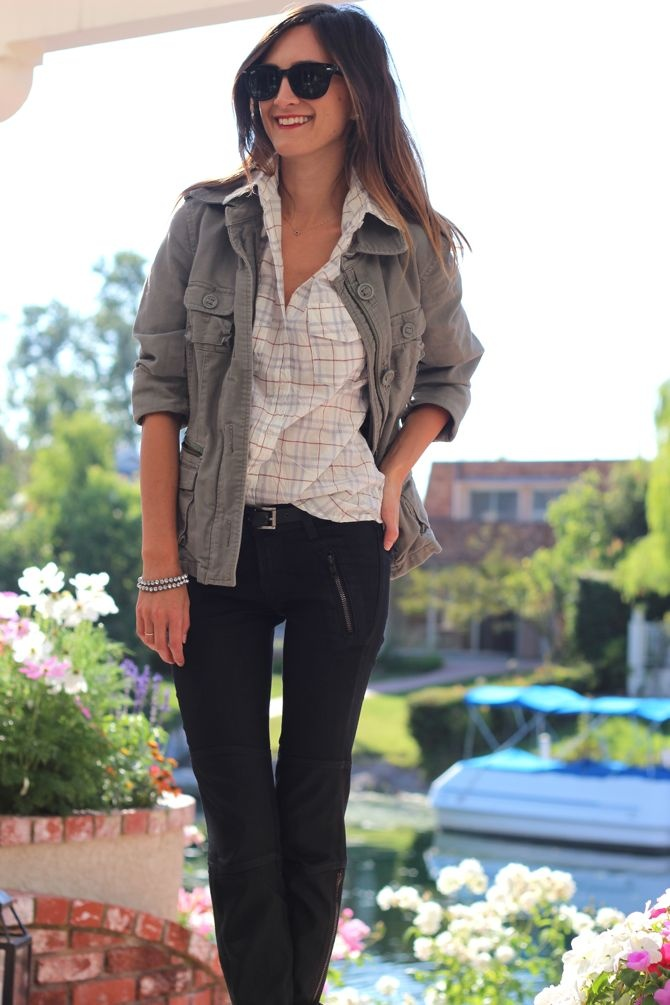 Relaxed PlaidCasual Style, Clothing