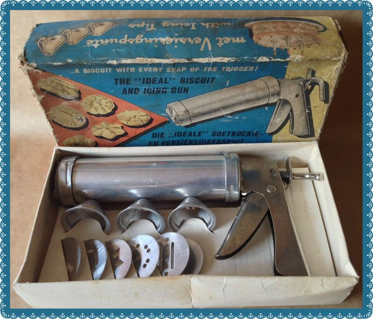 Vintage Ideal Biscuit and Icing Gun