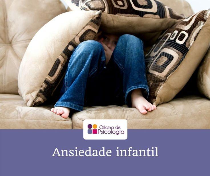 Saiba como se manifesta a ansiedade nas crianças.