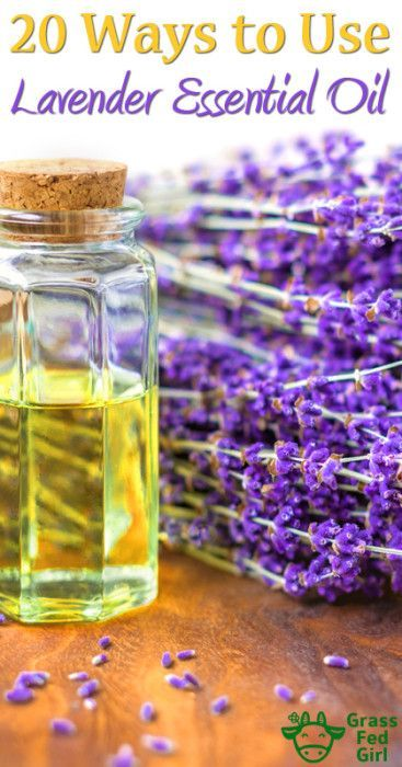 20 Ways to Use Lavender Young Living Essential Oil - https://www.grassfedgirl.com/lavender-young-living-essential-oils/
