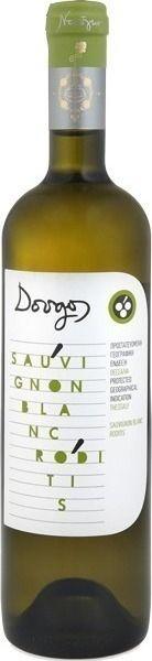 Ντούγκος λευκός ξηρός 2016 (Sauvignon blanc και Ροδίτης), Οινοποιείο Ντούγκου, Λάρισα.