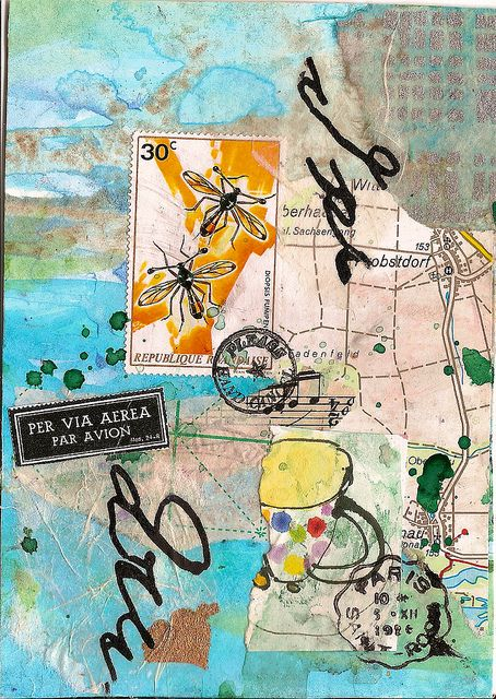 love this collage: Art Journal Pages, Art Journals, Art Collage, To A, Collage Mixed Media, Mixed Media Collage, Art Journaling