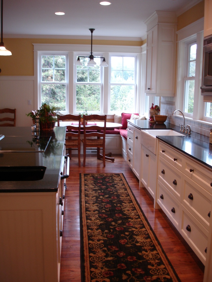 Kitchen Cabinets With Sink Stools Back Cottage Style Kitchen...galley Kitchens, So Functional ...