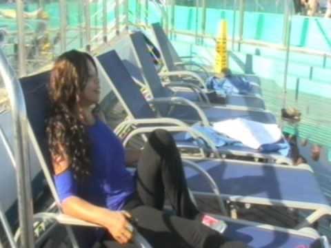 Conferencia con la Pastora Diana Mendiola. Mujer de Altura. 27 de Julio,2015. Saliendo del puerto de Miami a las Bahamas! 4 dias inovidables