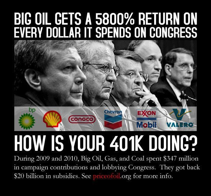 We can vote these people away.: Bigoil, American Corporate, American Politics, Enter Twilight, Mr. Big, Big Oil, Corporate Welfare, Twilight Zone, Comforter Zone